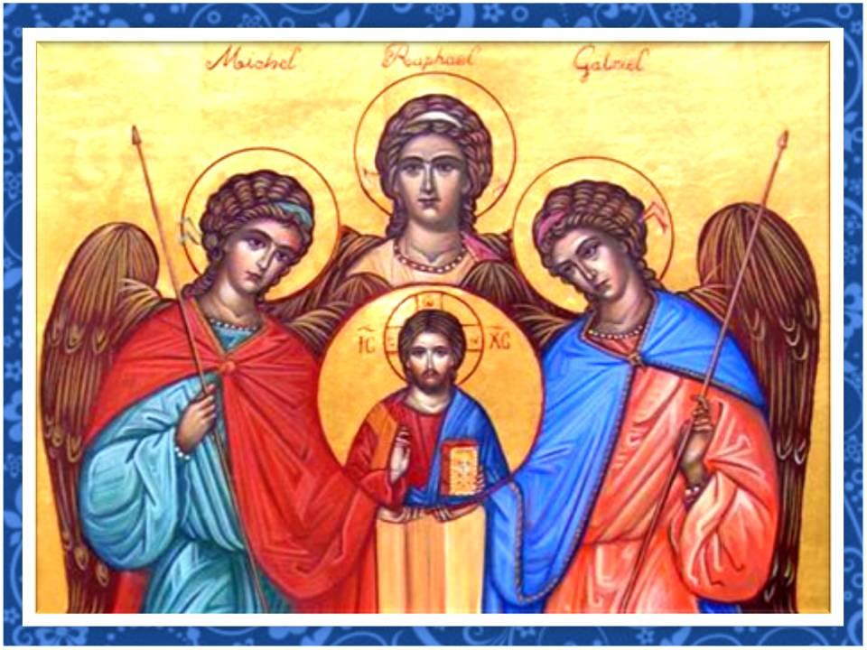 oración a los tres arcángeles